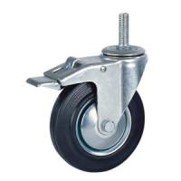 Buy cheap Rubber caster with brake product