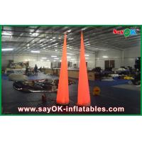 Buy cheap 3m Party Inflatable Lighting Decoration Led Light Traffic Cone Nylon Cloth from wholesalers