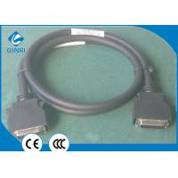 China SCSI Connector Cable Plc Omron / Siemens Plc Cable SS26-1 Black Wiring 1.5 Meter on sale