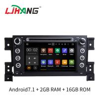 Buy cheap 7 Inch Android 7.1 SUZUKI Car DVD Player Car Radio Player With Rear Camera DVR OBD product