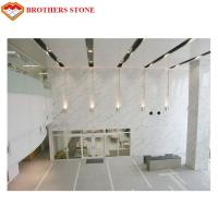 Buy cheap White Marble Stone Tiles Slabs For High End Hotel Villa Projects product