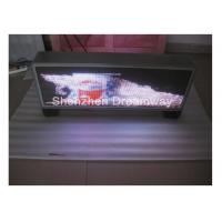 Buy cheap MOV DAT Video PH5 Taxi Top LED Display Advertising Waterproof , Automatic Brightness Adjusting product