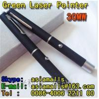 Buy cheap 30mw Green laser pointer laser torch product