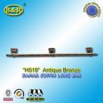 Buy cheap Ref H019  Zinc Alloy Metal Coffin Handles zamak Casket long bar 1 meter 3 base product