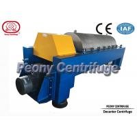 Buy cheap Centrifugal Continuous Oil Extraction Machine Decanter Centrifuges product