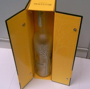 Buy cheap Wooden finish wine box product