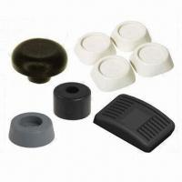 Buy cheap Custom Round Self-Adhesive Rubber Feet Wide Bumpers, Measures 31.24 x 2.54mm product
