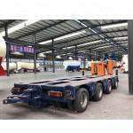 Buy cheap 8 Axle Heavy Duty Modular Lowboy Semi Trailer 100 150 200 Ton Hydraulic Modular product