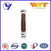 Buy cheap 69KV Porcelain Electronic Zinc Oxide Lightning Arrester With Double Sealing Structure product
