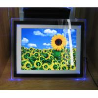 Video / Audio / Photo 15 Inch Personalized Digital Photo Frame With LED Light