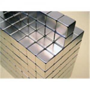 Block Gold Neodymium Permanent Magnet