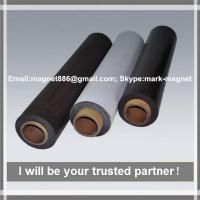 Promotional rubber magnet composite permanent strong rubber rolls magnet/flexible fridge magnet sheet