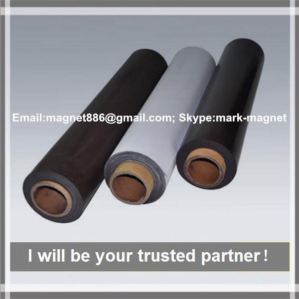 Quality Promotional rubber magnet composite permanent strong rubber rolls magnet/flexible fridge magnet sheet for sale