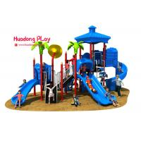 Vivid Color Image Kids Plastic Slide , Shopping Mall Outdoor Play Slide 32m³