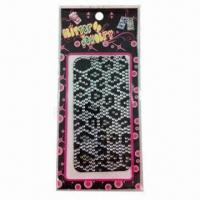 Buy cheap 2012 Fashionable Mobile Phone Stickers, Measures 16x8cm product