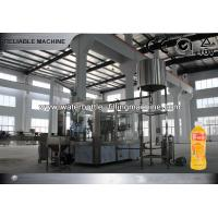 China PET Bottle Juice Filling Machine For Concentrated Juice Bottling , Hi Speed on sale