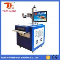 Buy cheap 10W Electric Wire And Cable UV Laser Marking Machine , Laser Engraving Equipment product