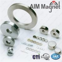 Buy cheap Ring Sintered NdFeB magnets neodymium magnet, rare earth ndfeb magnet product