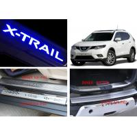 Buy cheap NISSAN X-TRAIL 2014 2017 Tail Gate and Side Door Sill Steel Scuff Plates product