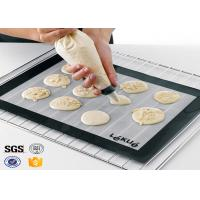 Buy cheap PTFE Non Toxic Baking Sheet BBQ Heat Proof Silicone Mat product