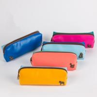 Buy cheap Cheap promotional PU leather zipper pencil case product