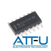 Buy cheap 2 -6V SMD Programmable IC Chip Quadruple 2 Input SN74HC08DR product