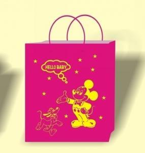 Buy cheap Pink color bag printing, bag printing house, bulk paper bags, wholesale bag supplier, bag seller product