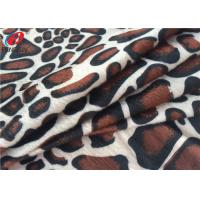 Buy cheap Digital Printed Knitted Fleece Fabric , 4 Way Stretch Velvet Fabric For Toy product