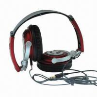 Buy cheap New Foldable Wired Computer Headset with 20Hz-20kHz FR/25mW Rated Power/3.5mm Plug product