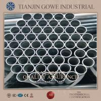 Buy cheap Construction scaffolding galvanised steel tube hot dip galvanized product