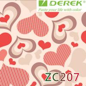 ZC207 Bubble Free Digital Printing Doodle Film / Graffiti Sticker Bomb for Car Wrapping