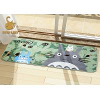 Buy cheap Polyester Non-Woven Large Living Room Area Rugs with White Flower Pattern product