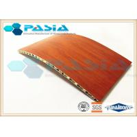 Buy cheap Wood Veneer Aluminium Honeycomb Ceiling Panels For Clean Room Weather Proof product