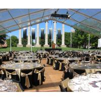 Buy cheap Sound-Proof Waterproof Conference Clear Span Structure Tent For 100 People product