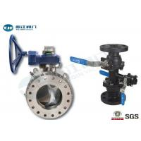 Buy cheap Duplex Stainless Steel DBB Ball Valve , API 6D Trunnion Type Ball Valve product