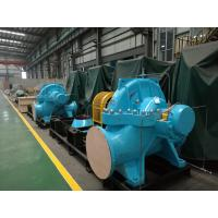 China High Speed Double Suction Split Case Pump , Horizontal Water Pump Delivering Liquids on sale