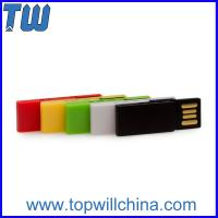 Buy cheap Colorful Clip Usb Drive 4GB Office Storage Free Logo Printing Company Gift product