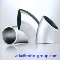 Buy cheap A403 WP316 Stainless Steel Elbows SCH10 - SCH160 XXS 45 90 180 Degree product