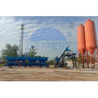 Buy cheap HZS50 Concrete Batching Plant With 3800mm Discharging Height, Cement Batching Plant product