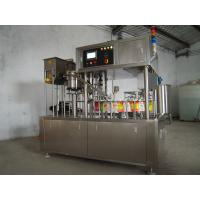 Buy cheap Spout Pouch Liquid Filling Equipment , Milk / Water Pouch Packing Machine product