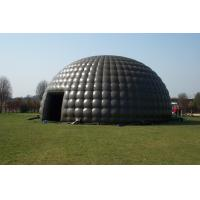 Buy cheap OEM / ODM Black Inflatable Tent  Marquee For Outdoor Party And Event product