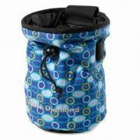 China Climbing chalk bag, made of 600D polyester on sale