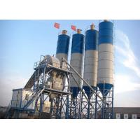 60m3 Small Ready Mix Concrete Plant With Stationary Automated Belt Conveyor