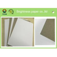 Buy cheap High Bulking Large Flat Cardboard Sheets , White Black Paper Board For Electronics product