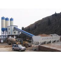 Buy cheap Automatic Ready Mix Concrete Plant With Cement Silo 4500L Charging Volume product