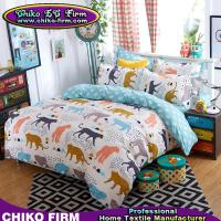 Buy cheap Cartoon Leopard Design Soft Flat Sheets Pillowcases Duvet Covers product
