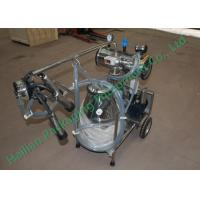 China Small Cattle Mobile Milking Machine Hand Operated Sucking Milk on sale