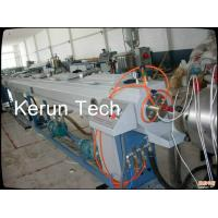 High Speed Large Diameter Pipe Extrusion Machine / HDPE Pipe Production Line