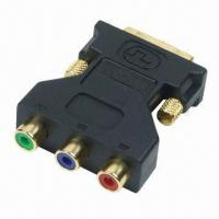 Buy cheap DVI adapter for 3RCA female to DVI male product