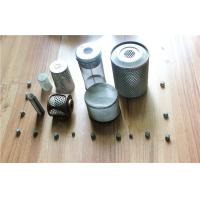 Buy cheap Cylinder Knitted Wire Mesh Tube for Oil Filters , Perforated Metal Mesh Screen from Wholesalers